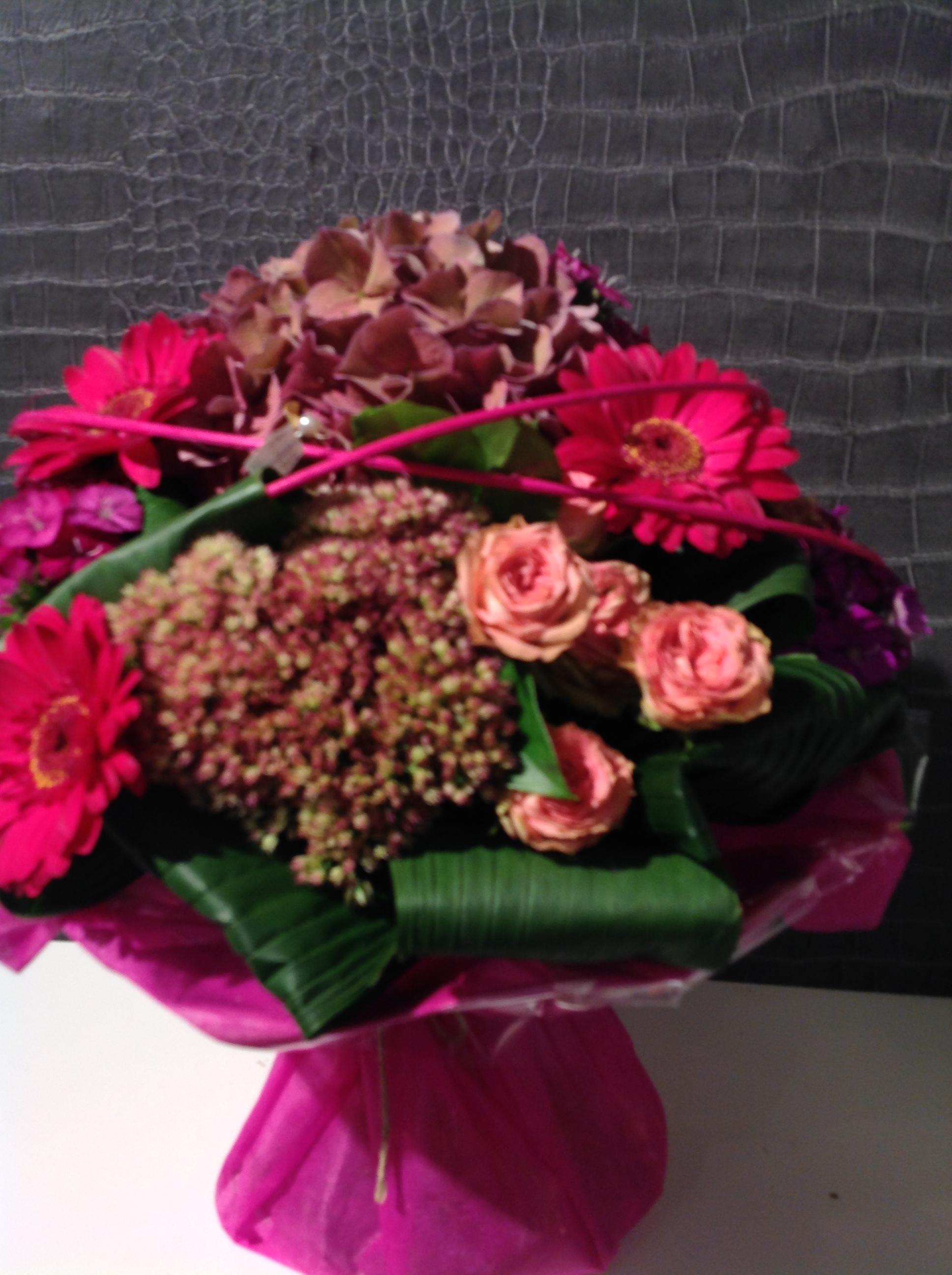 Bouquet rond bulle d 39 eau au jardin de l aau jardin de l a for Le jardin de lea